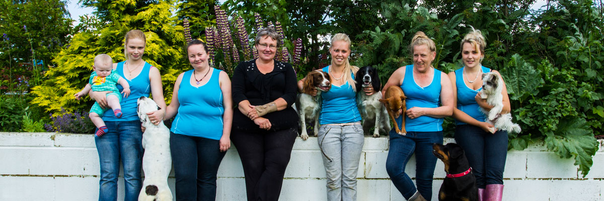 The team at Jaycliffe Kennels & Cattery